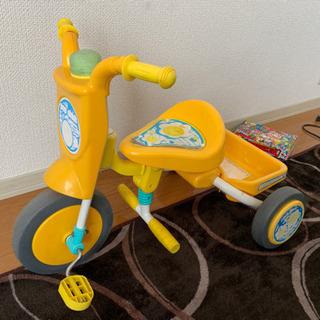 幼児、子供。三輪車です!!
