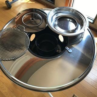 【再入荷!】韓国製バーベキュー丸テーブル