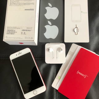 iphone7 256GB  PRODUCT RED simフリー