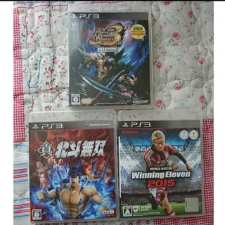 PS3 ソフト 三点セット