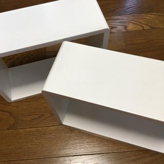 インテリアボックス2個セット