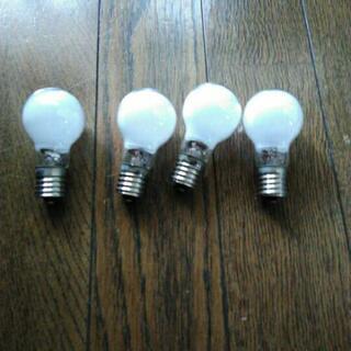 東芝E17・60Wクリプトン電球・4個差し上げます。
