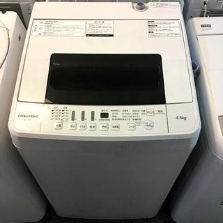【送料無料・設置無料サービス有り】洗濯機 2018年製 Hisen...