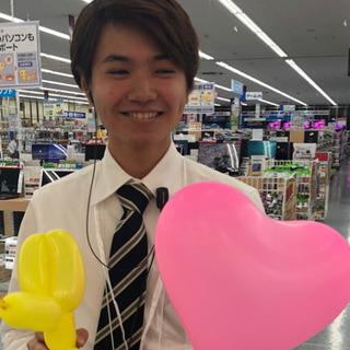 スマホ販売スタッフ 時給1200円〜1400円