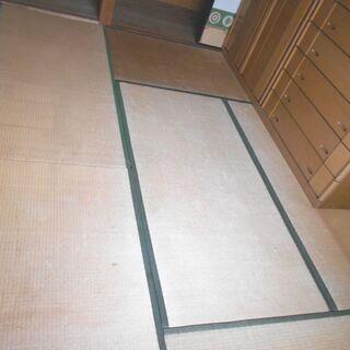 ● 東南和室 畳6枚(6畳分)和室2 畳縁グリーン 小屋や納屋の...