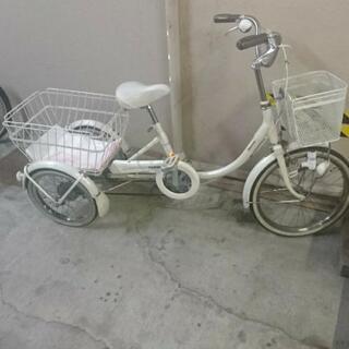 🚴(受け渡し決定)ブリジストン WAGON 大人用三輪自転車