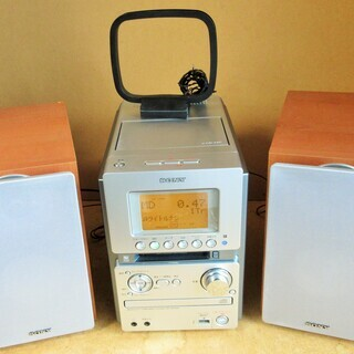 ☆ソニー SONY HCD-M35WM CD・MD・カセットミニ...