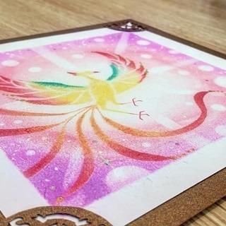 【残席1】 パステルアートワークショップ ~光の鳳凰~ 広島市開催! - 絵画