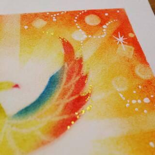 【残席1】 パステルアートワークショップ ~光の鳳凰~ 広島市開催! − 広島県