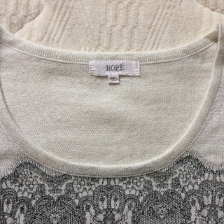 【お値下げ】ROPE(ロペ) カットソー Mサイズ - 服/ファッション