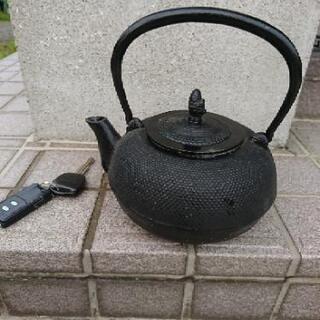 鉄瓶  急須 南部鉄器?  写真でご判断ください。