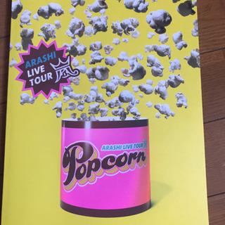 嵐 ツアー パンフレット popcorn