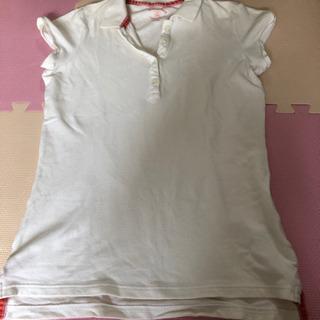 ꙳★*゚UNIQLO ポロシャツ ホワイト꙳★*゚