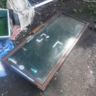 福島県発 中島村発 自販機のガラス ペアガラス 4枚セット 程度...