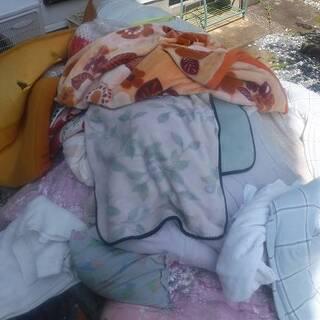 福島県発 中島村発 梱包用の毛布や布団 約30枚 最低15枚から...