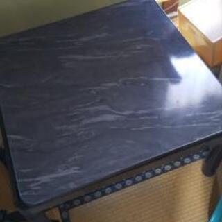 交渉成立【美品】リバーシブルこたつテーブル