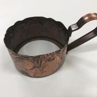 コーヒーカップ 銅製ホルダー 2セット