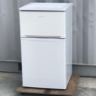 格安!アイリスオーヤマ◇ノンフロン冷凍冷蔵庫◇81L◇2018年...