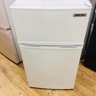 BESTEKの2ドア冷蔵庫です。