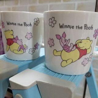 プーさんマグカップ