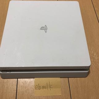 PS4 本体 500GB ホワイト 白 箱なし 付属品あり CU...