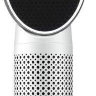 【新品未使用】QUEENTY 空気清浄機 小型 LEDライト付き...