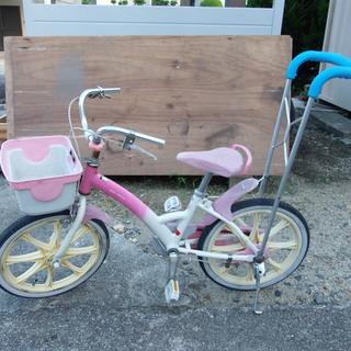 ☆アサヒのアルミフレームの子供用自転車です。 簡単に整備しました...