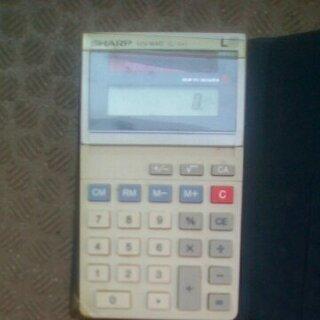 電卓 SHARP EL-341