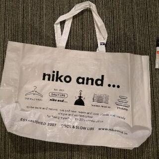 ショップ袋(niko and... )