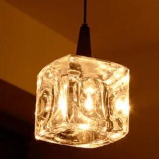 【値下げ】kishima CUBE ハロゲンペンダントライト