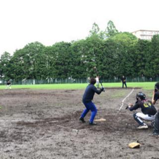 野球やりましょー