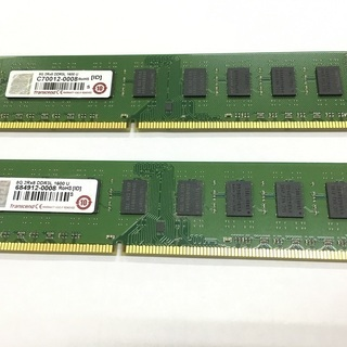 値下げ Transcend DDR3L-1600U 8G×2本セット