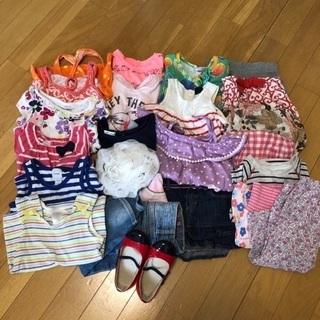 女の子 80㎝相当 夏服&小物 全部で800円