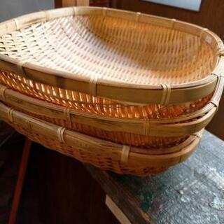 竹ざるセット