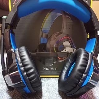 ヘッドセット ゲーミング ヘッドホン PS4 ヘッドフォン LE...