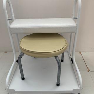 ネイル フットカート(施術用椅子付き)
