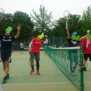 【新テニスサークル】【オープニングメンバー募集】【みんな一緒にス...