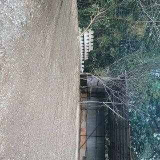 城南区東油山 資材置き場