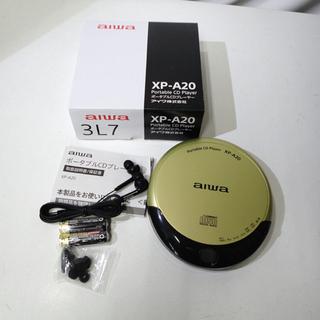新品未使用 aiwa ポータブルCDプレーヤー XP-A20 札...