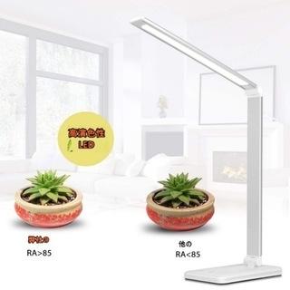 【新品・未使用】スタンドライト 電気スタンド LED 卓上ライト...