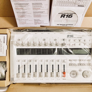 ZOOM R16 Recorder Interface Cont...