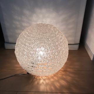 Francfrancで購入 ガラス風照明 8月12日までに引き取り!
