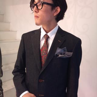 裏メニュー  「ビジネスフォーム」 スーツ着用で対応。