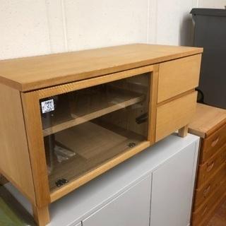 【無印良品】タモ材使用のコンパクトテレビボード!