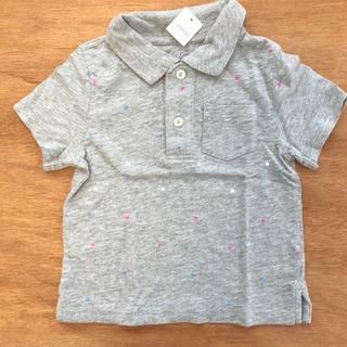 【2/13まで出品】大人気 babyGAP 星柄ポロシャツ