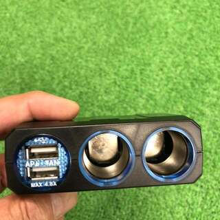 USB付きシガーソケット(1)
