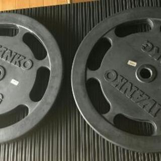 IVANKO ラバースタンダードプレート 20kg×2枚