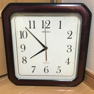 掛け時計 SEIKO 未使用品