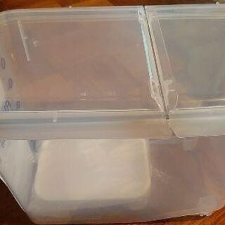 密閉米びつ12㎏用/フードストッカー 新品未使用品