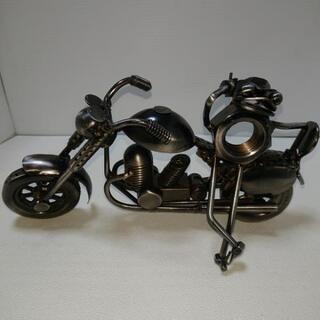 アートなオートバイ (金属製)